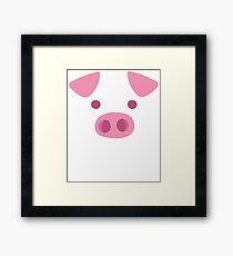 Pig Face Framed Print
