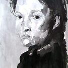 Watercolour Portrait by Josh Bowe