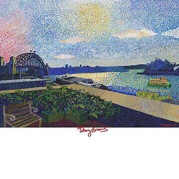 MCA Circular Quay Sydney (Dark Clothing) by tobycentreart