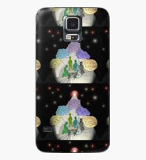3 E.T. wise men visit Bethlehem in a Starship from the east Case/Skin for Samsung Galaxy