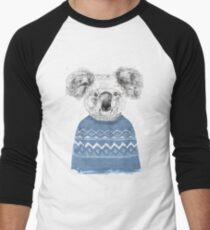 Winter koala Men's Baseball ¾ T-Shirt
