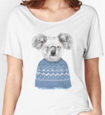 Winter koala Women's Relaxed Fit T-Shirt