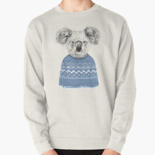 Winter koala Pullover Sweatshirt