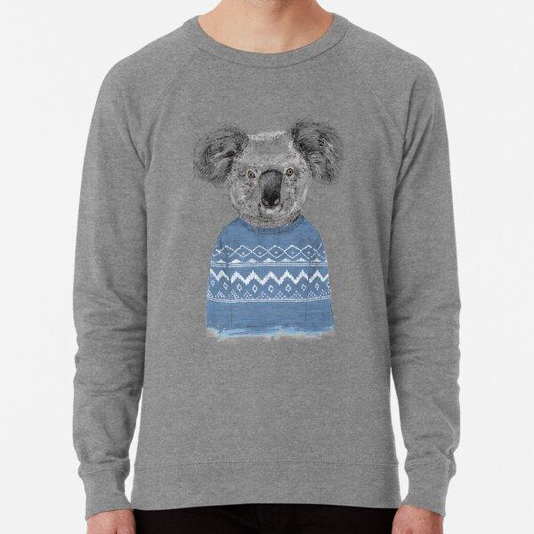 Winter koala Lightweight Sweatshirt