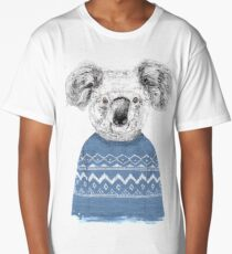 Winter koala Long T-Shirt