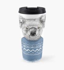 Winter koala Travel Mug