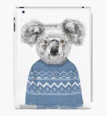 Winter koala iPad Case/Skin