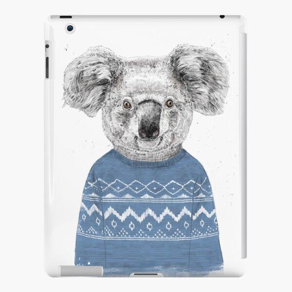 Winter koala iPad Snap Case