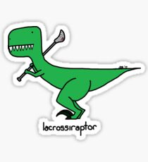 lacrossiraptor Sticker