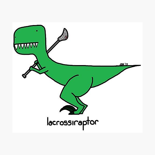 lacrossiraptor Photographic Print