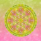Flower of Life - Free Spirit von Gaby Shayana Hoffmann