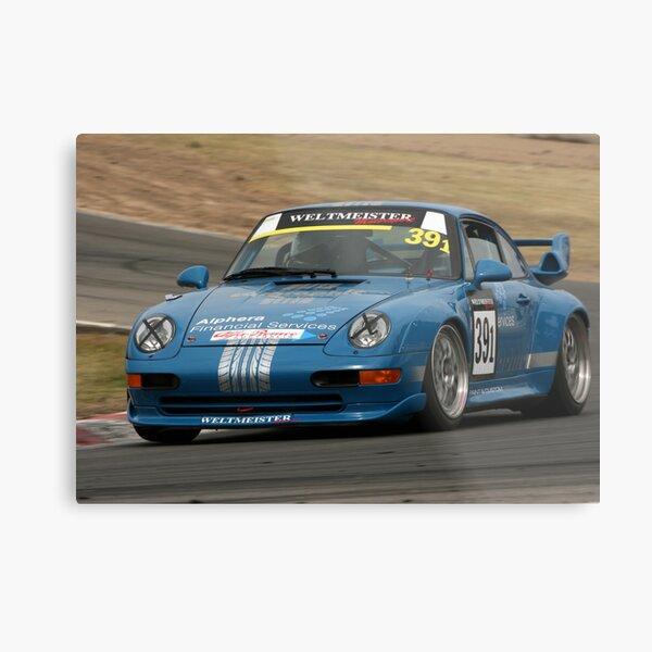 Porsche attack Metal Print