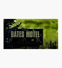Bate's Motel Photographic Print