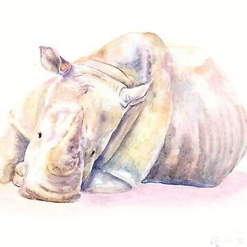 Rhino Two by artlilly