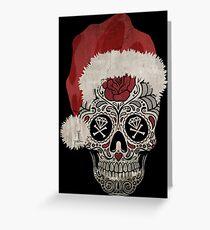 Hellidays Skull Greeting Card