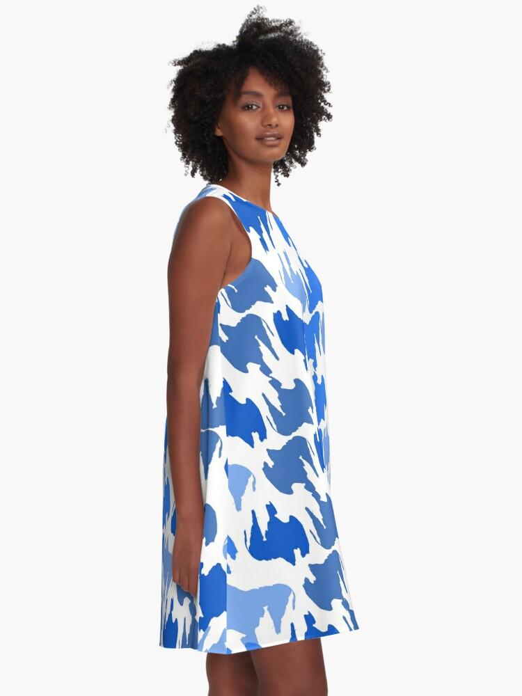 Alternate view of Buffalo Blues A-Line Dress