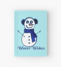 Snowman's Winter Wishes Hardcover Journal