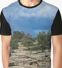 Castlewood Canyon und Sturm Grafik T-Shirt