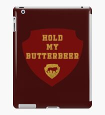 Motto: Hold My Butterbeer iPad Case/Skin