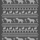 Ugly Christmas sweater dog edition - Cockerspaniel by Camilla Mikaela Häggblom