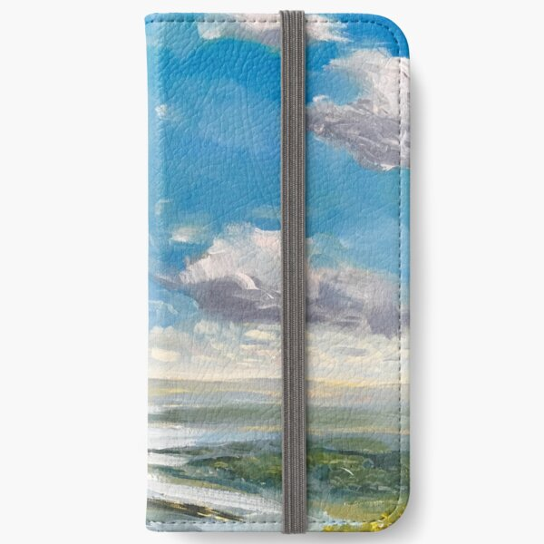 Clouds 1 iPhone Wallet