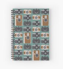 Analogue cameras Spiral Notebook