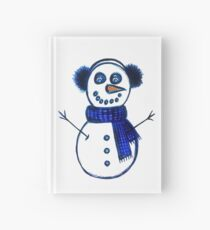 Snowman Hardcover Journal