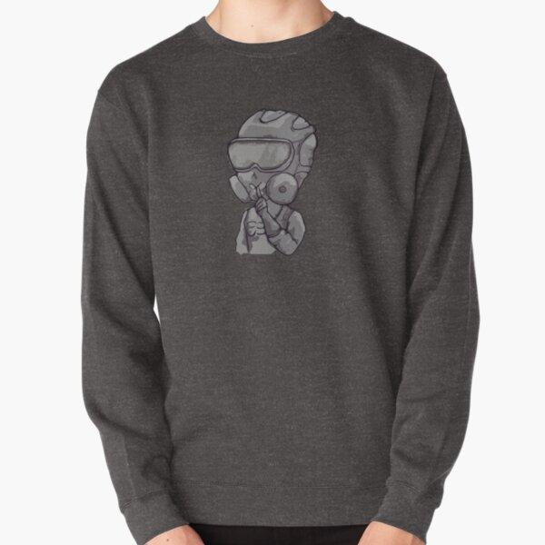 Inktober Mute Pullover Sweatshirt