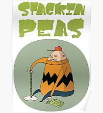 Stackin' 'P' Design Poster