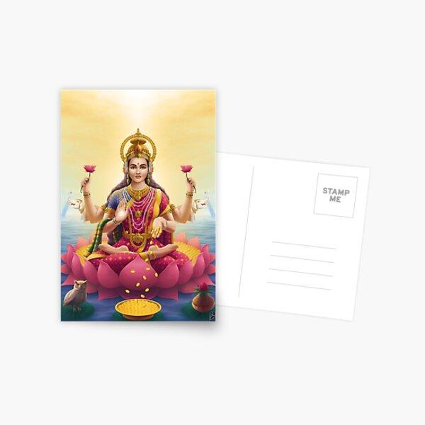 Goddess Lakshmi Postcard