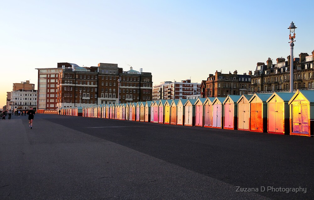 beach huts by Zuzana D Photography