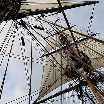 Lady Washington's rigging by inkgeek