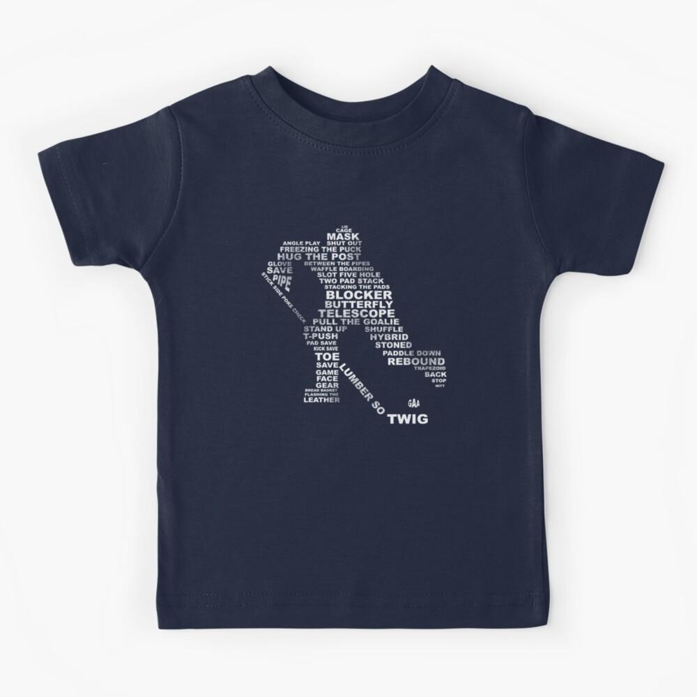 Hockey Vocabulary Kids T-Shirt