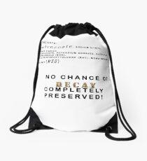 preserved Drawstring Bag