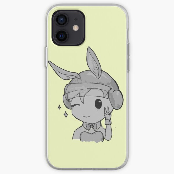 Bunny IQ iPhone Soft Case