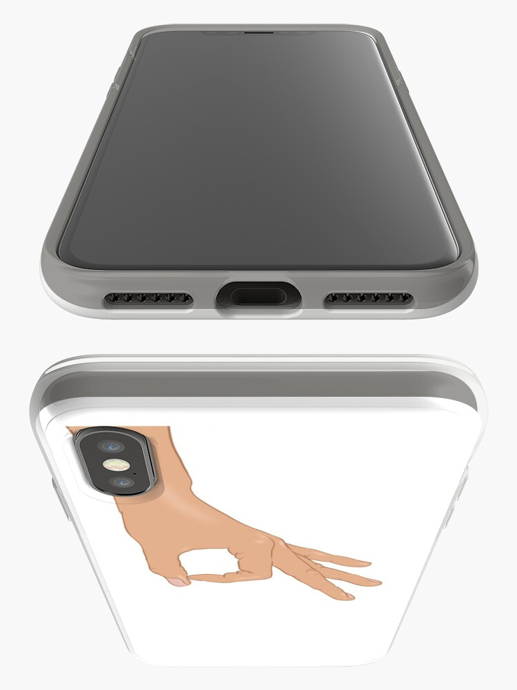 Alternate view of The Circle Finger Game iPhone Case & Cover