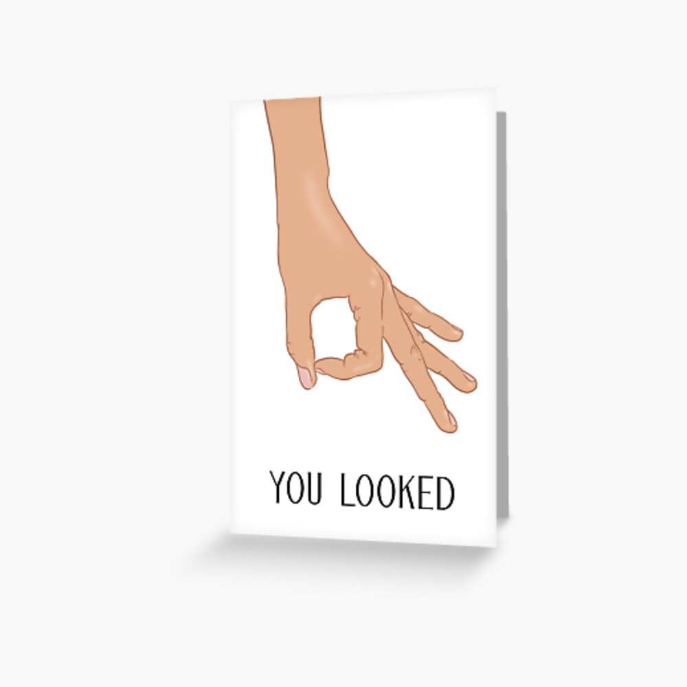 The Circle Finger Game Greeting Card