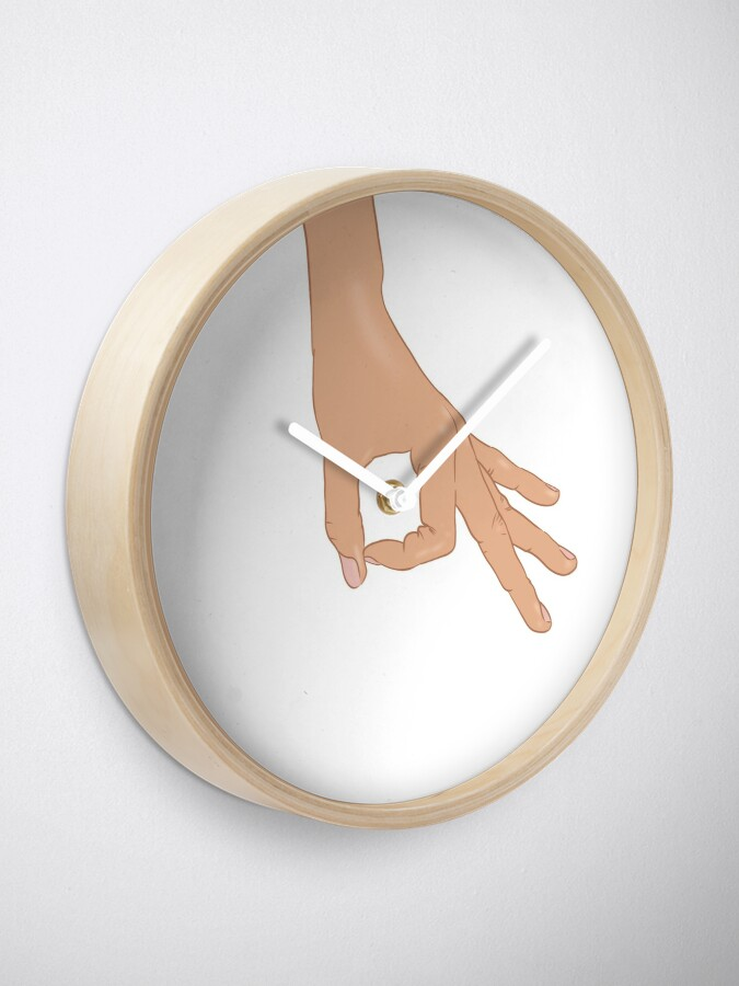 Alternate view of The Circle Finger Game Clock