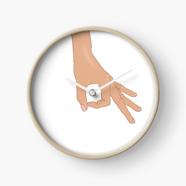 The Circle Finger Game Clock