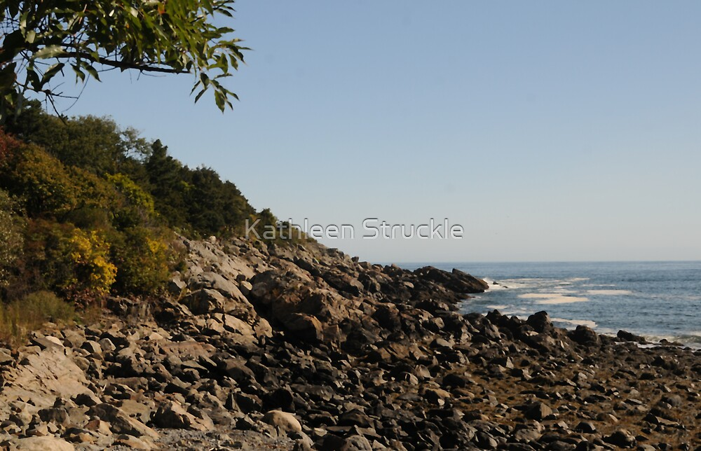 Perkin's Cove by Kathleen Struckle