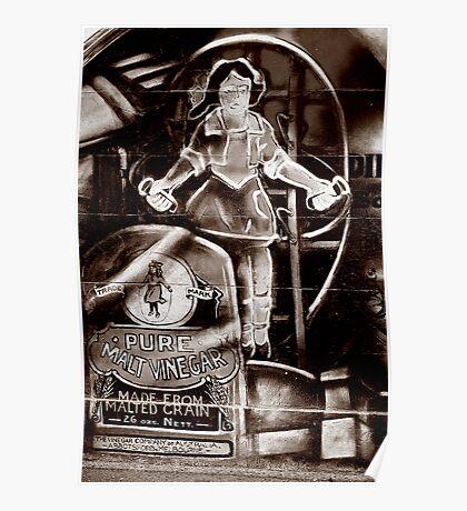 Skipping girl Poster