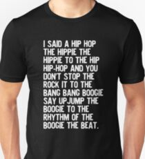 Rappers Delight - Sugarhill Gang Unisex T-Shirt