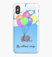 Fly Without Wings iPhone Case