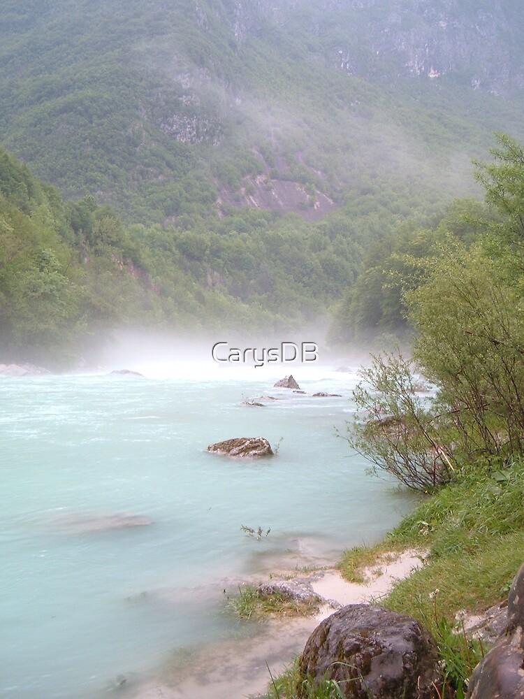 River Soca, Slovenia by CarysDB