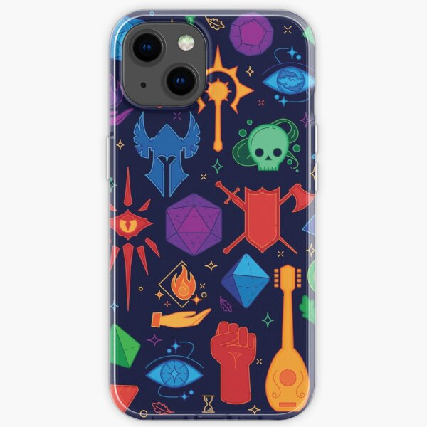 DnD Forever - Color iPhone Soft Case