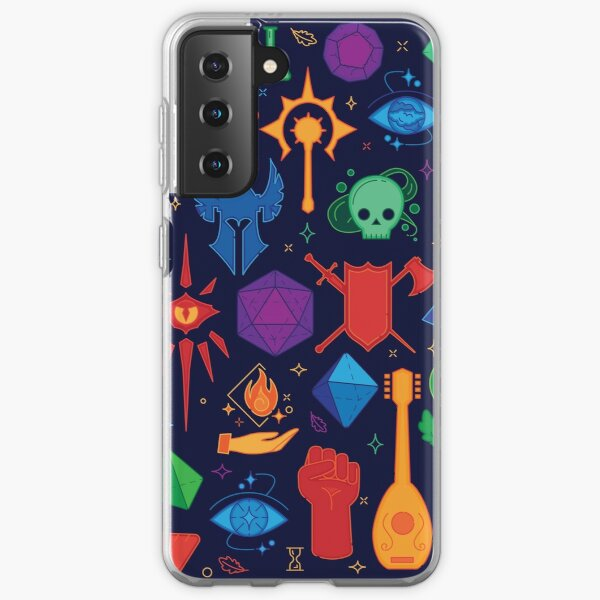 DnD Forever - Color Samsung Galaxy Soft Case