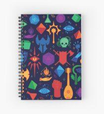 Cuaderno de espiral DnD para siempre - Color