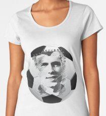 Beckenbauer football Women's Premium T-Shirt