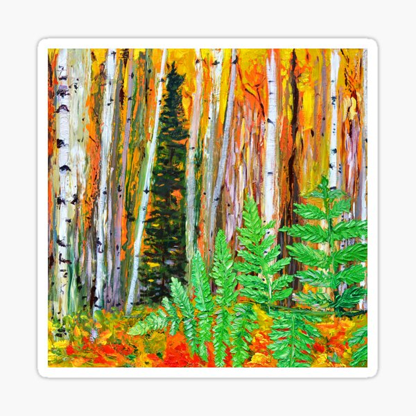Birch Sticker