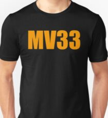 Max Verstappen MV33 Unisex T-Shirt